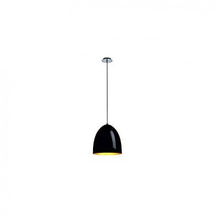 Schrack Technik LI PARA CONE pendulum lumin. round black/gold E max.W eulux.sk