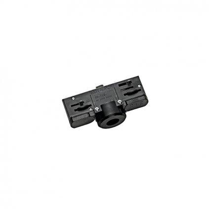 Schrac Technik LI EUTRAC f lištový adaptér čierny s montážnou spojkou eulux.sk