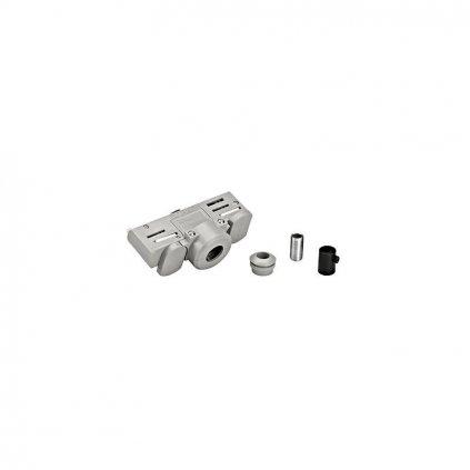 Schrac Technik LI EUTRAC f lištový adaptérstrieborný s montážnou spojkou eulux.sk