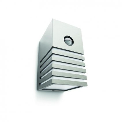 Massive-Philips // Veranda wall lantern inox xW V nástenné svietidlo so senzorom eulux.sk