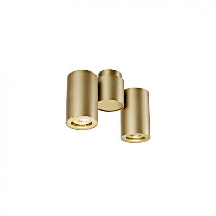 Schrack Technik ENOLA_B SPOT double stropné/nástenné xGU brass - LI eulux.sk