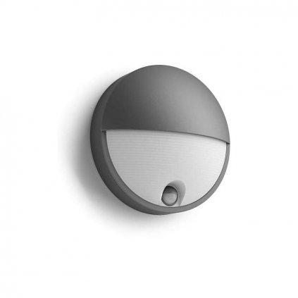 Massive Philips // Capricorn IR antracit LED nástenné svietidlo so senzorom eulux.sk