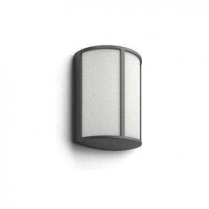 Massive Philips // Stock antracit LED nástenné svietidlo eulux.sk