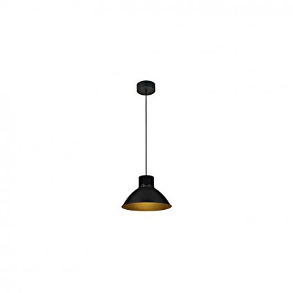Schrack Technik LI PENTULI LED pendulum luminaire big black eulux.sk
