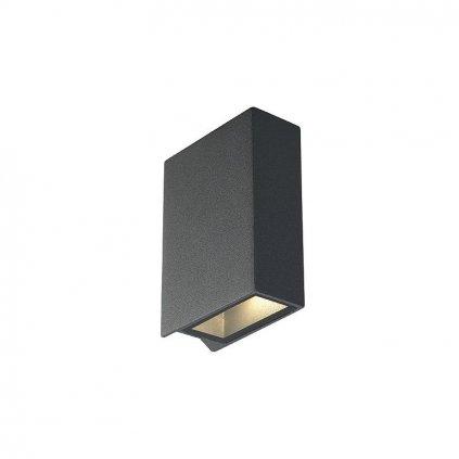 SCHRACK TECHNIK QUAD nastenné hranaté šedé LED xW teplá biela- LI eulux.sk