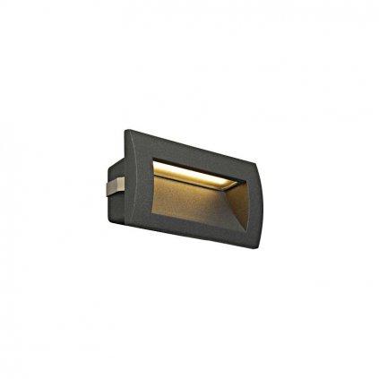 Schrack Technik Downunder OUT LED M nástenné zápustné W K antracit eulux.sk