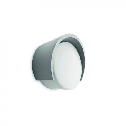 Massive-Philips // Parasola wall lantern grey xW nástenné svietidlo eulux.sk