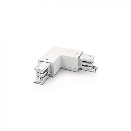 Schrack Technik LID -fázová spojka rohová PE vľavo biela eulux.sk