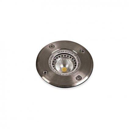 Schrack Technik LID TERRA zápustné podlahové kruhové GU W IP hliník eulux.sk