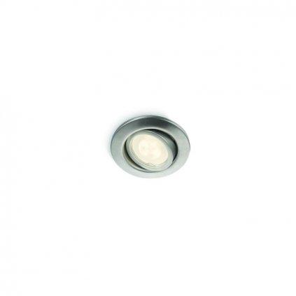 Massive-Philips // Fresco recessed LED inox xW V bodové svietidlo eulux.sk
