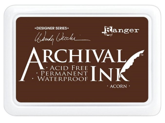 Ranger Archival ink pad Acorn