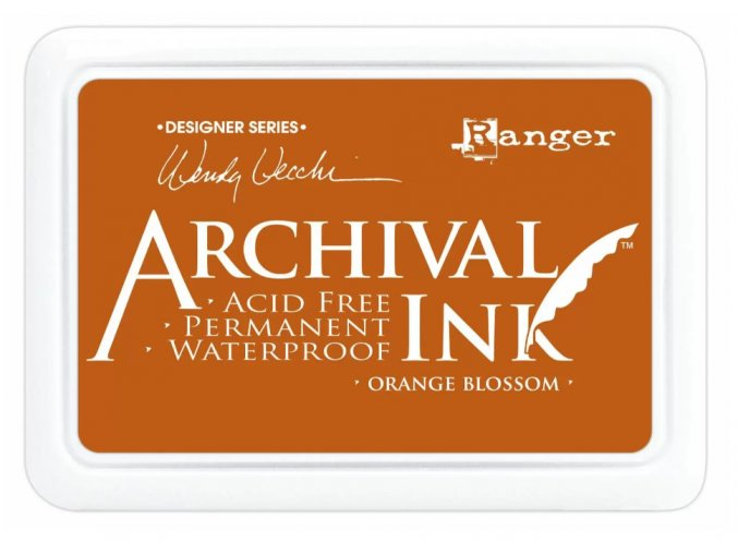 Ranger Archival ink pad Orange blossom