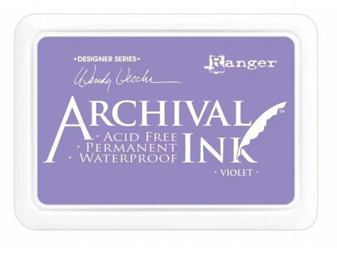 Ranger Archival ink pad Violet