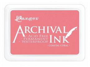 Ranger Archival ink pad Coastal coral