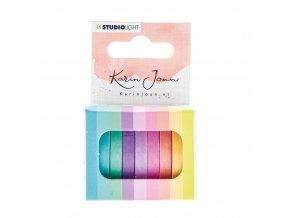 Sada washi pásek - Karin Joan Blooming Collection