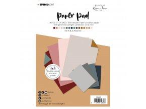 Sada scrapbookových papírů A5 - Basic by Karin Joan Terramore