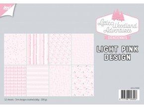 31690 littlewoodlandadventure Design Light Pink