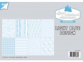 31691 LittleWoodlandAdventure Design Light Bleu