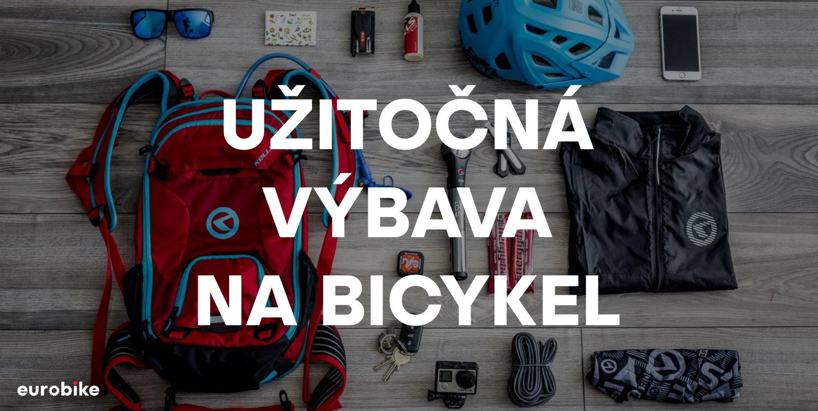 Užitočná výbava na bicykel