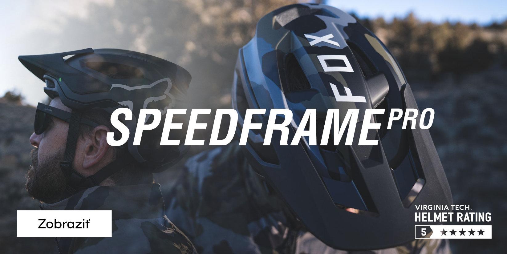FOX Speedframe MIPS Helmet