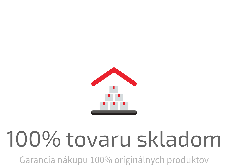 100% tovaru skladom