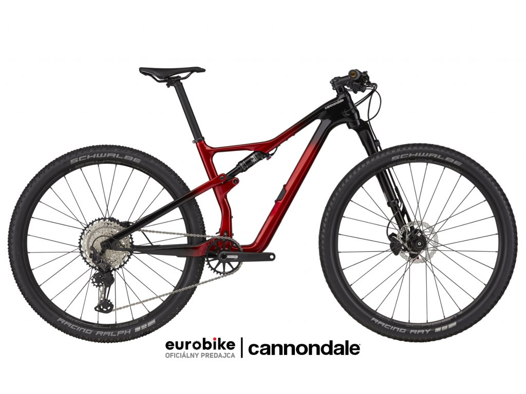 CANNONDALE Scalpel Carbon 3 Candy Red 2021