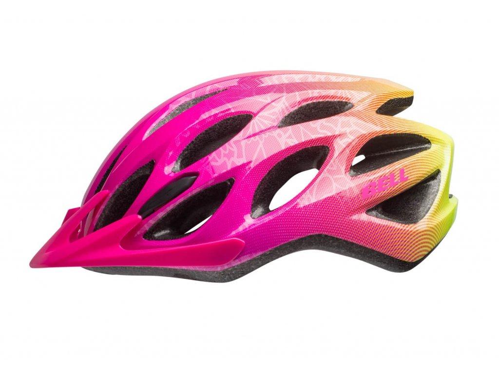bell charger jr youth helmet gloss Rhodamine retina sear Bloom left 1