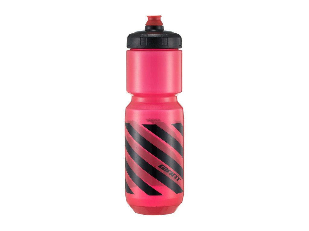 GIANT DoubleSpring™ II 750 ml Transparent Red / Black
