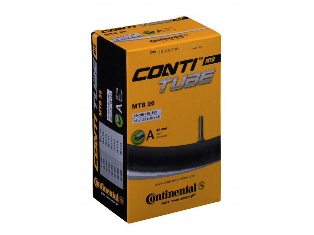 Continental MTB Tube ProductPicture 26A40