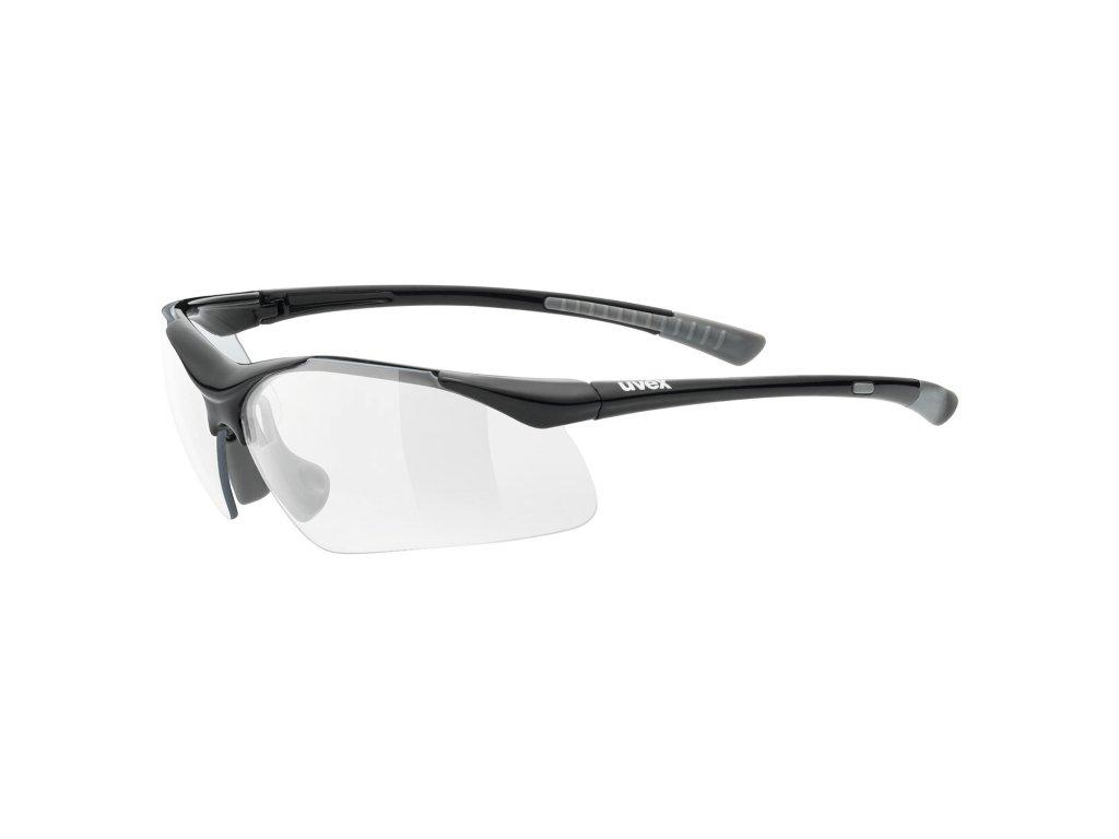 UVEX Sportstyle 223 Black Grey
