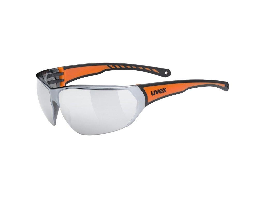 UVEX Sportstyle 204 Black Orange