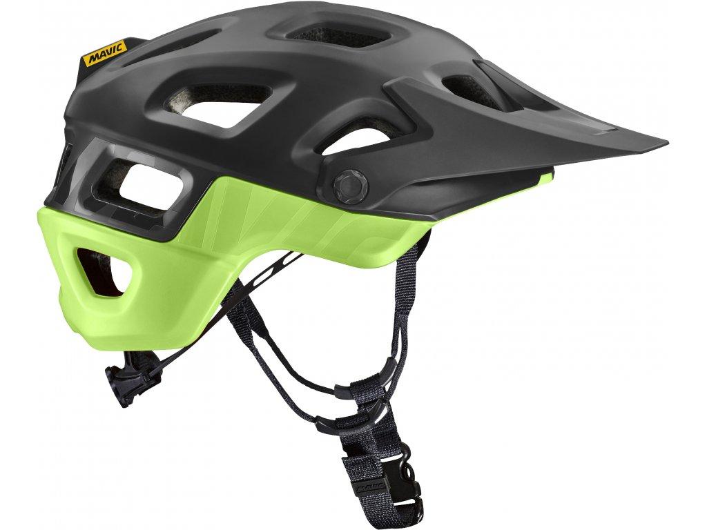 MAVIC Deemax Pro MIPS Helmet Black / Green 2021