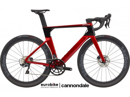 CANNONDALE SystemSix Ultegra Candy Red 2021