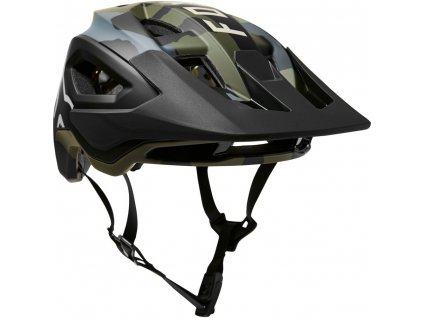 FOX Speedframe Pro MIPS Helmet 2021 Green Camo