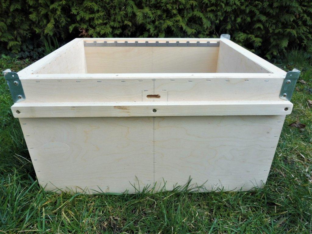Nástavek plodištní - včelí úl Eurodadant