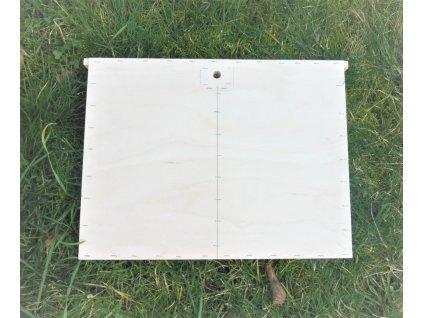 Blinova přepážka  - včelí úl Eurodadant