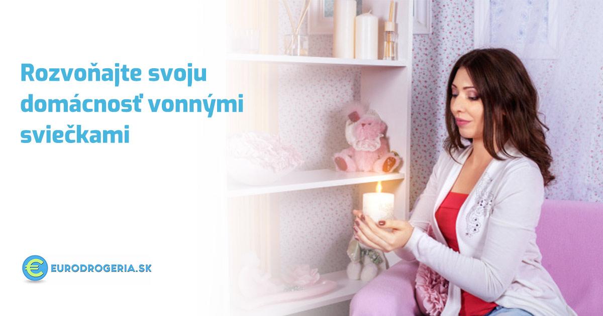 Rozvoňajte svoju domácnosť vonnými sviečkami