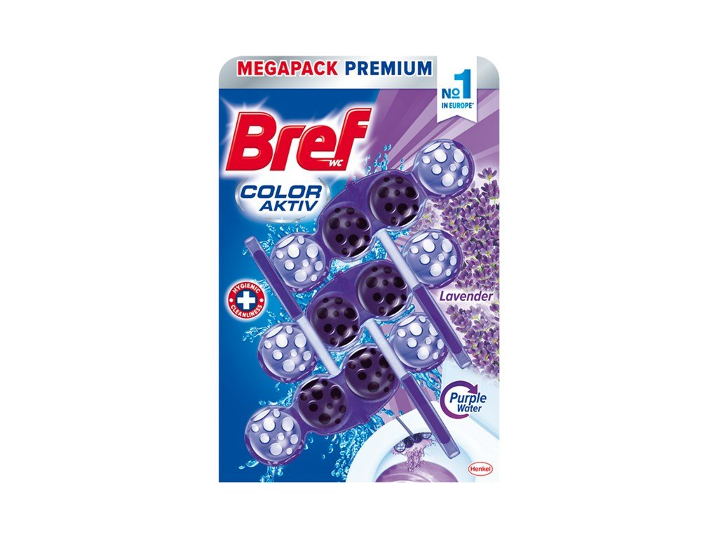 Bref Color Aktiv Levander WC Blok 3x50g