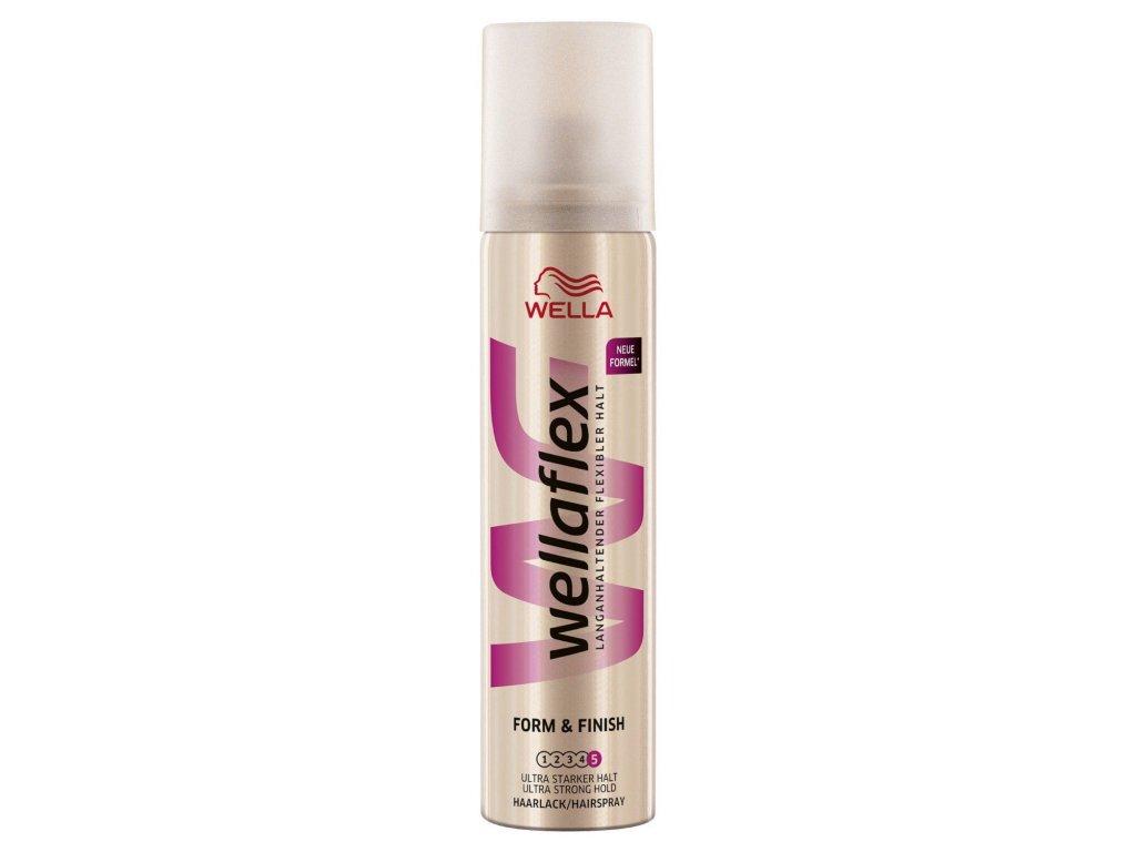 Wellaflex Form & Finish 5 lak na vlasy 75ml