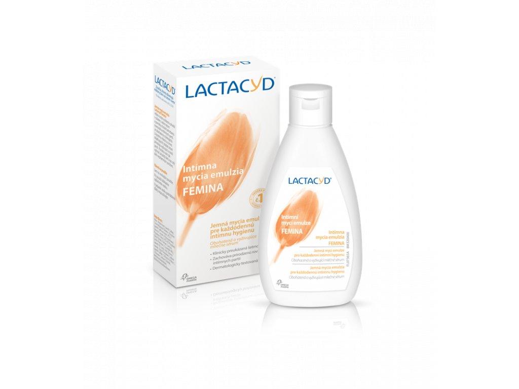 Lactacyd Femina emulzia pre intímnu hygienu 300ml
