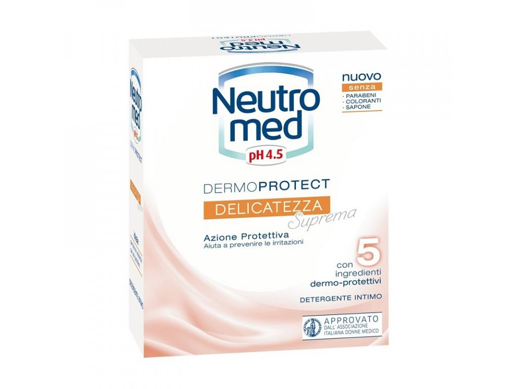 Neutromed Delicatezza pH 4.5 emluzia pre intímnu hygienu 200ml