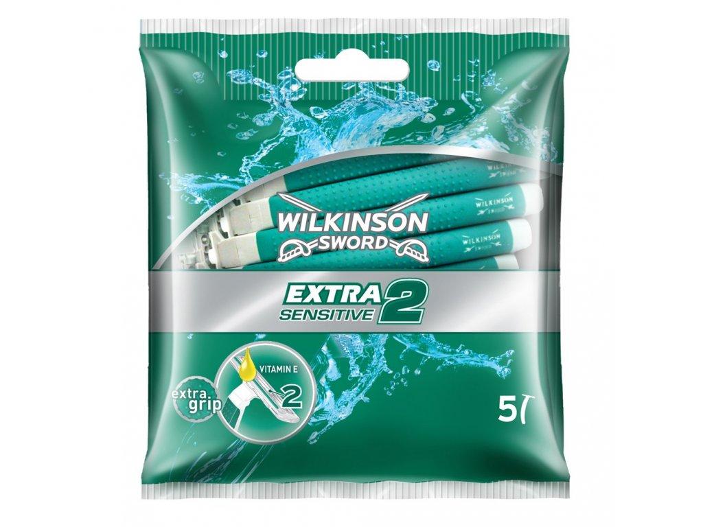 Wilkinson Extra Sensitive 2 jendorázové holiace strojčeky 5