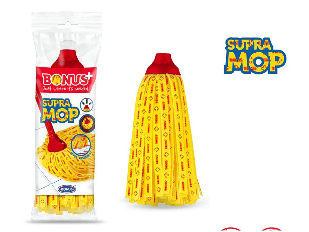 Bonus Supra Mop náhradná hlavica na mop 100g