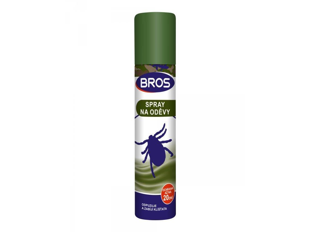 Bros repelent na odevy proti komárom a klieštom 90ml