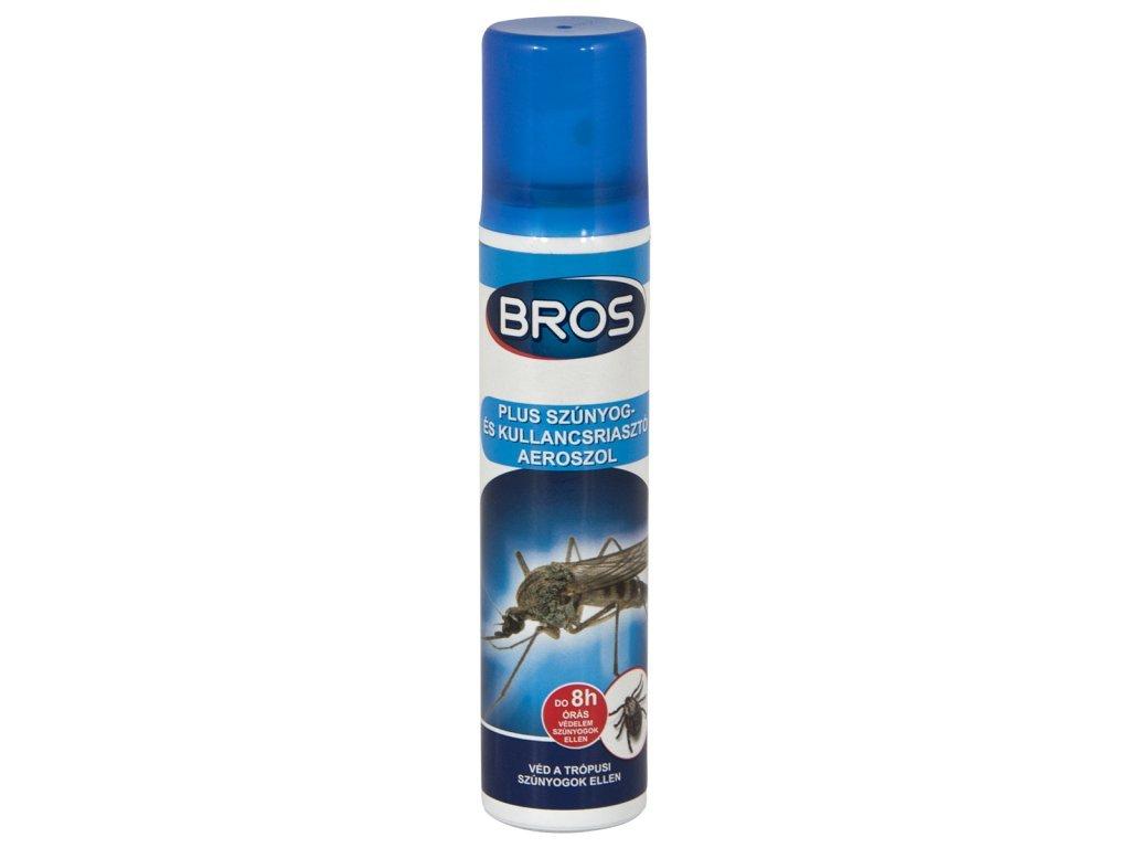 Produkt Bros repelent na komáre a kliešte aerosol 90ml