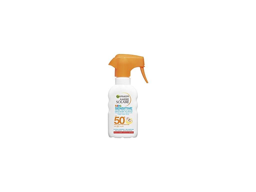 Garnier Ambre Solaire Resisto KIDS sensitive spray OF50+ 200 ml