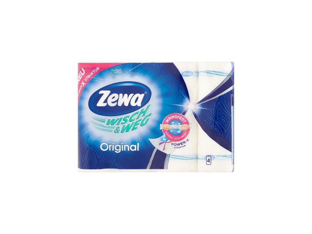 Zewa Wisch&Weg Original kuchynské utierky 4ks