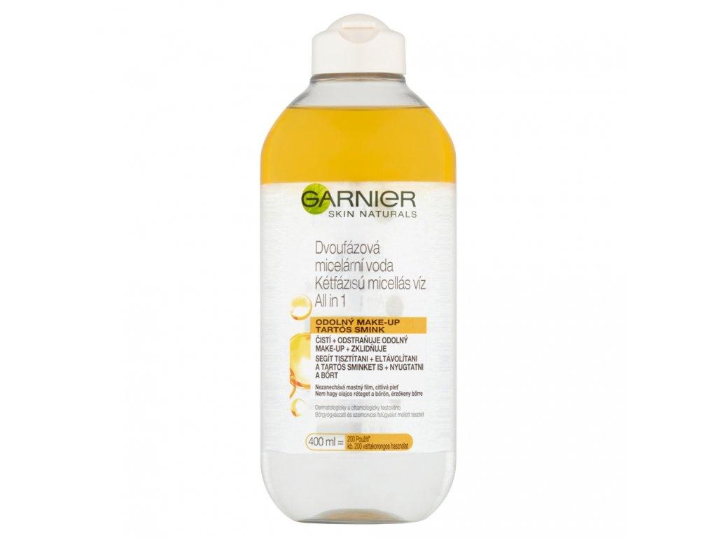 Garnier Skin Naturals Dvojfázová micelárna voda ALL IN 1