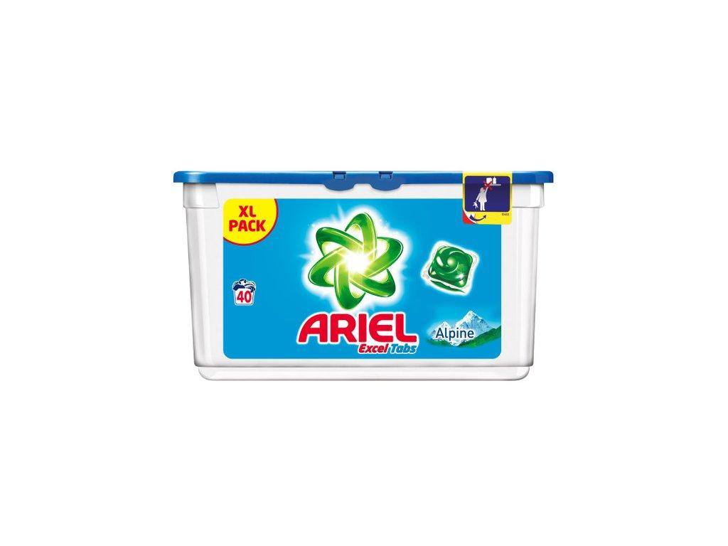 Ariel 3in1 Alpine gélové kapsule 40ks
