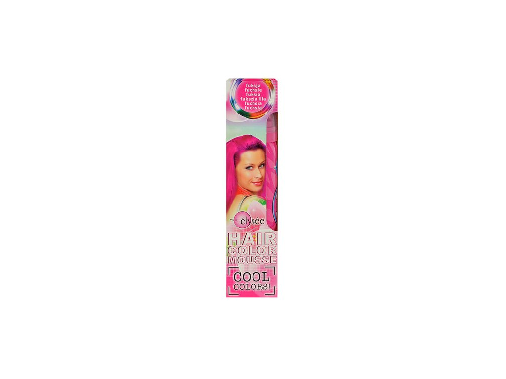 84 70149 tuzidlo na vlasy wats elysee hair color mousse 75ml w barevne penove tuzidlo odstin 97 fuchsia
